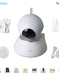 Snov 720P Wireless IR IP Camera Home & Business Pan & Tilt IP Camera Alarm, Security IP Baby Monitor, CMS & APP