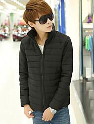 Moda Masculina de lazer com capuz com casaco grosso