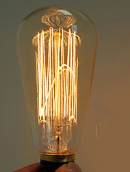 40watů E27 Edison retro žárovka st64 (220-240)