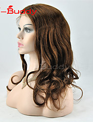 Human hair  lace wigs for  women Brazilian virgin hair Wavyhuman hair color(#1 #1B #2 #4)