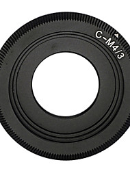 negro c montura del objetivo de micro 4/3 adaptador de E-P1 E-P2 e-p3 G1 GF1 GH1 g2 GF2 gh2 g3 GF3 c-m4 / 3