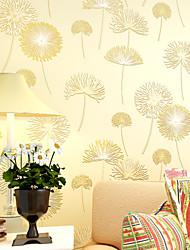 Fleur Papier peint Contemporain Revêtement,Intissé Oui