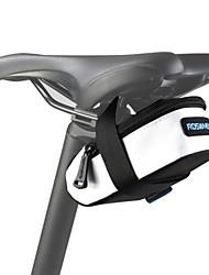 ROSWHEEL® Bolsa de Bicicleta 0.5LBolsa para Bagageiro de BicicletaÁ Prova-de-Água / Zíper á Prova-de-Água / Camurça de Vaca á