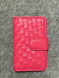 Unisex PU Casual Card & ID Holder - Pink / Blue / Brown / Black