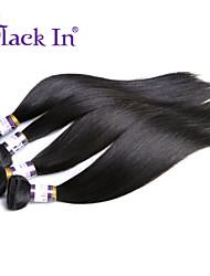 peruano cabelo reto virgem 3 pcs / muito barato extensão não transformados virgem peruano cabelo liso cabelo humano