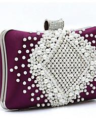 Women Wedding PU Magnetic Clutch / Evening Bag