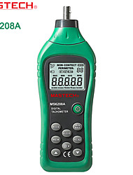 Mastech-ms6208a- Contact Tachometer Speed Meter Line Tachometer With Backlight + Data Storage