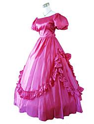 guerra steampunk®civil sul vestido de baile belle vinho vestido vestido de festa vermelho vestido victorian o dia das bruxas