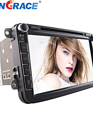 8-inch 2 Din TFT Screen In-Dash Car DVD Player For Volkswagen With Bluetooth,GPS,Built-in the CAN BUS