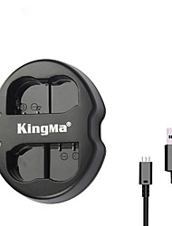 kingma® usb double chargeur de batterie de la fente pour Nikon batterie EN-EL15 pour Nikon D750 D610 D7100 D7000 caméra d600 D800E