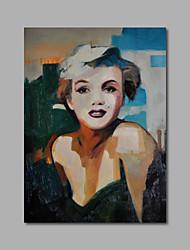 ручная роспись маслом на холсте стены искусства поп-арт Мэрилин Монро ню одна панель готовы повесить
