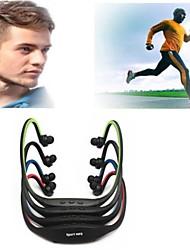 4g / 8g di sport giocatore di musica mp3 auricolare cuffia auricolare senza fili