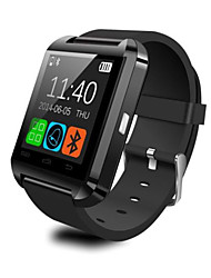 u8 smartwatch resposta bluetooth / controle de mídia mensagem de câmera / anti-perda para o android ios smartphones