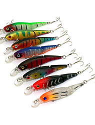 Fishing Lures / Hard Baits  8 pcs Two-section Floating Minnow 88MM 7.4G