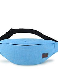 TINYAT Fashion Canvas Fanny Bag/ Portable Key Pouch/Sport Waist Bag/Waterproof Belt Bag/T201