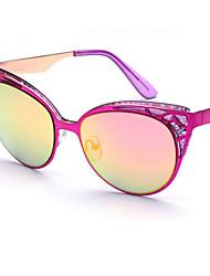 Sunglasses Women's Elegant / Modern / Fashion Cat-eye Black / White / Coffee / Gold / Red / Blue Sunglasses Full-Rim