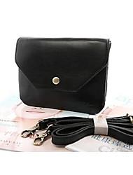 Women PU Sling Bag Shoulder Bag - Green/Black/Burgundy