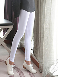 Women's Fashion High Elastic Neon Pure Color Leggings