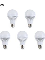 Dekorativ Kugelbirnen , E26/E27 7 W 12 SMD 5630 264-288 LM Warmes Weiß / Natürliches Weiß AC 220-240 V