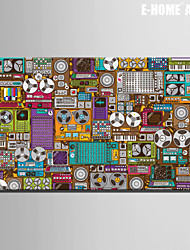 E-HOME® Stretched Canvas Art Electronic Element Abstraction Decorative Painting One Pcs
