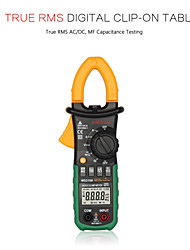 AIMOMETER MS2108 6600 Counts Auto Range 600A-AC&DC Current True RMS Digital Clamp Meter With Capacitance Hz Measurement