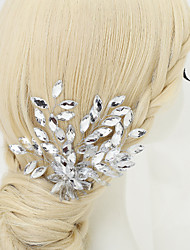 Women's / Flower Girl's Rhinestone / Crystal / Alloy Headpiece-Wedding / Special Occasion Hair Combs 1 Piece
