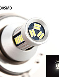 h4 30smd 4014 5W 600lm 6000-6500K wit licht high-power LED lamp voor auto-lampen (dc10-30v)