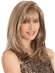 New Arrivals Medium Perfect European  Synthetic Hair Wig