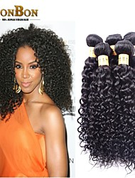 3pcs/lot Malaysian Virgin Human Hair Kinky Curly pretty