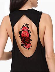 5Pcs/Set Flower Fake Tattoo Sticker Sex Products Waterproof Temporary Tattoo Sticker Flash tattoos