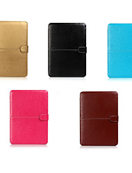 "ASLING Case for MacBook 12"" Business Solid Color PU Leather Material Notebook PU Leather"
