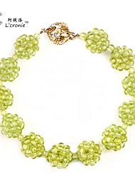 l'bracelete de cristal cronie®peridot