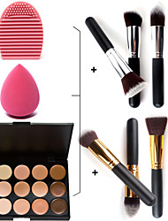 15 Concealer Makeup Brushes Face