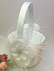 Flower Basket Satin Garden Theme / Vegas Theme / Classic Theme With Rhinestones / Petals