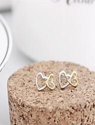 Korean tv Drama 925 Sterling Silver Earrings Rose Gold 3a cz Stud Earrings Branded Earrings Mercurial Superfly Nail