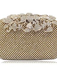 Bolso de Mano ( Metal )- Casual / Boda / Exterior / De Compras para  Mujer ( Cierre de Empuje )