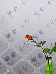 Fenster-Aufkleber - Zeitgenössisch - Blumenmuster