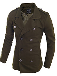 Uonuode Man'S tide Products Breasted Coat Slim Korean Men