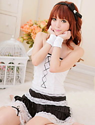 White Maid Maid Outfit