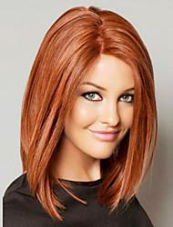 nytt mode mänsklig jungfru bob hår spets front peruk för kvinnor 10 '' - 14 '' bob peruk kändis frisyr African American peruker