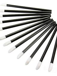 50pcs descartáveis gloss batom varinhas escova
