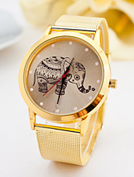 Watch Women Fashion Gold Watches Alloy Belt Elephant Quartz Watches