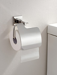 Toilet Paper Holders , Contemporary Mirror Polished Wall Mounted