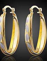 Bettr  18K Gold Vacuum Plating Retro Gold Earrings