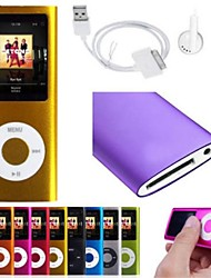 "8GB Slim Mp3 Mp4 Player With 1.8"" LCD Screen FM Radio Video Games Movie"