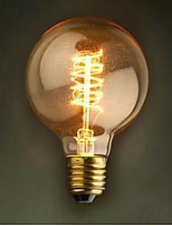 G80 wWre 40-60 - W bulb American Restaurant Retro Decoration Light Bulb