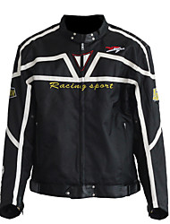 PRO-BIKER Motorcycle Shockproof Riding Jackets  Motorbike Protective Windproof Racing Jacket  (Black)