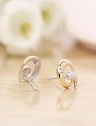 Tous jewelry silver earings 925 women korean tv drama fine jewelry rose gold 3a cz stud earrings brincos vintage