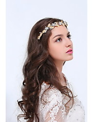 Women's Gold / Alloy Headpiece-Wedding / Special Occasion / Casual Headbands 1 Piece Clear