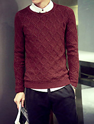 Men's Pure Pullover , Knitwear Long Sleeve